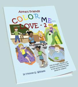 Color Me Love Coloring Books Anna S Friends