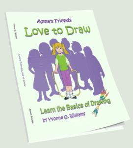 Anna's Friends Love to Draw